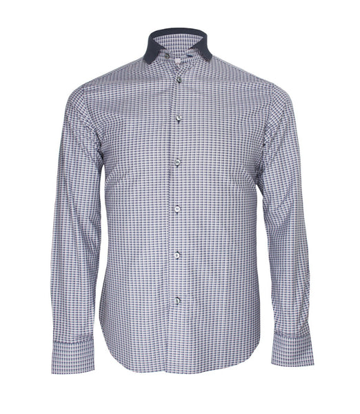 Black Grey Checked Shirt