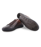 Brown Calfskin Sneakers