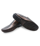 Lambskin Driver Shoes Havana