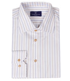 White Striped Shirt, Size 40
