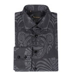 Black Patterned Shirt Italian