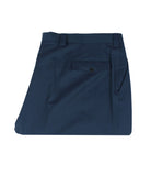 Navy Virgin Wool Pants