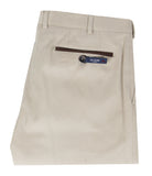 Beige Cotton Pants