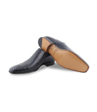 Navy Dress Loafers
