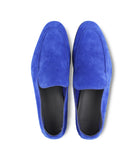 Blue Suede Loafers