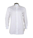 White Cotton Mix Shirt