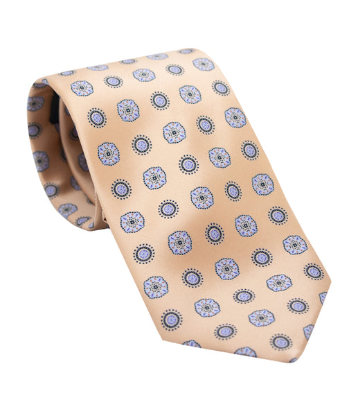 Golden SIlk Tie Set