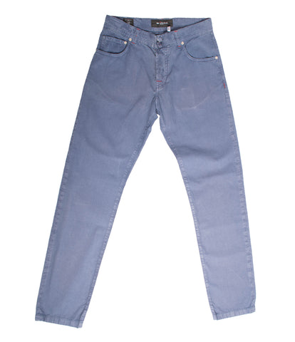 Luxurious Ciro Light Cobalt Blue Denim Jeans