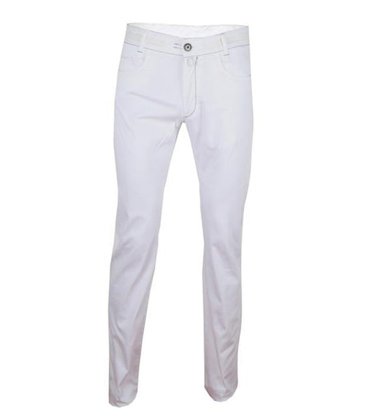 White Cotton Chinos
