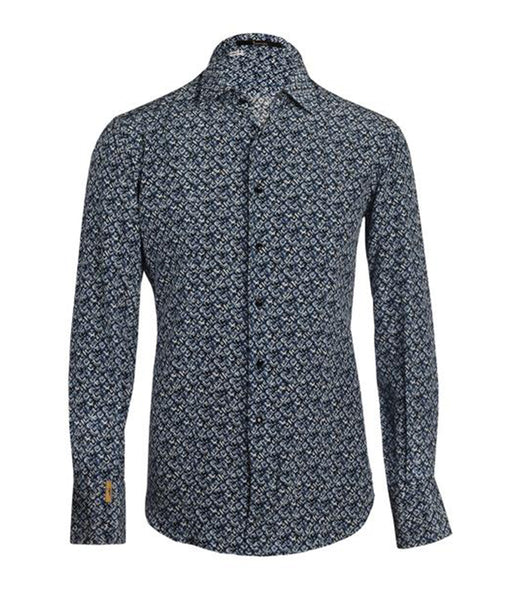 Floral Silk Shirt Salerno