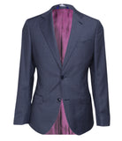 Blue Checkered Suit, Size 38""