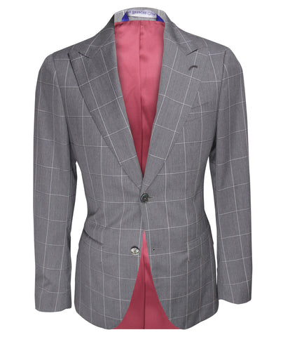 Checkered Suit, Size 38""