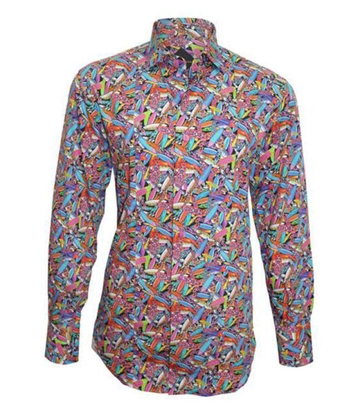 Multi-color Cotton Shirt