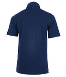 Navy Blue Jersey Polo Tee