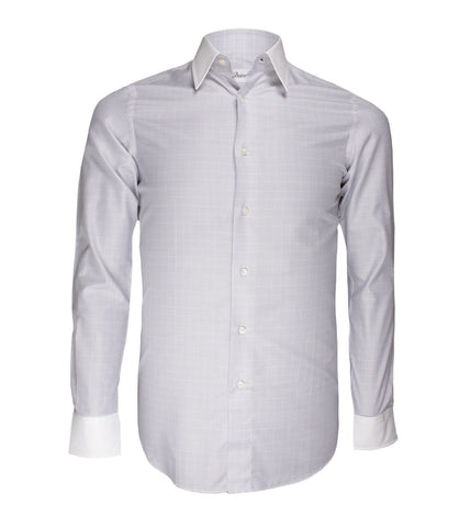 Pale Beige Checked Shirt