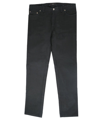 Black Cotton Jeans Meribel