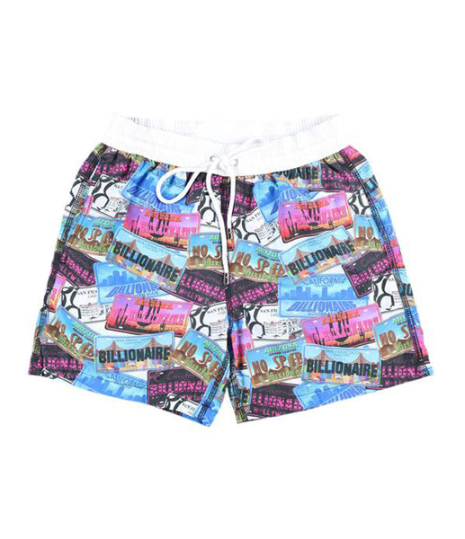 Multi-color Swimming Shorts