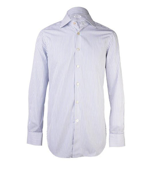 Navy White Striped Shirt