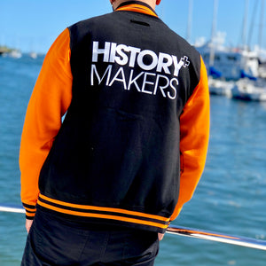 History Makers 02 Collection • Alumni Jacket ( Orange )