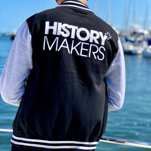 Load image into Gallery viewer, History Makers 02 Collection • Alumni Jacket ( Grey )