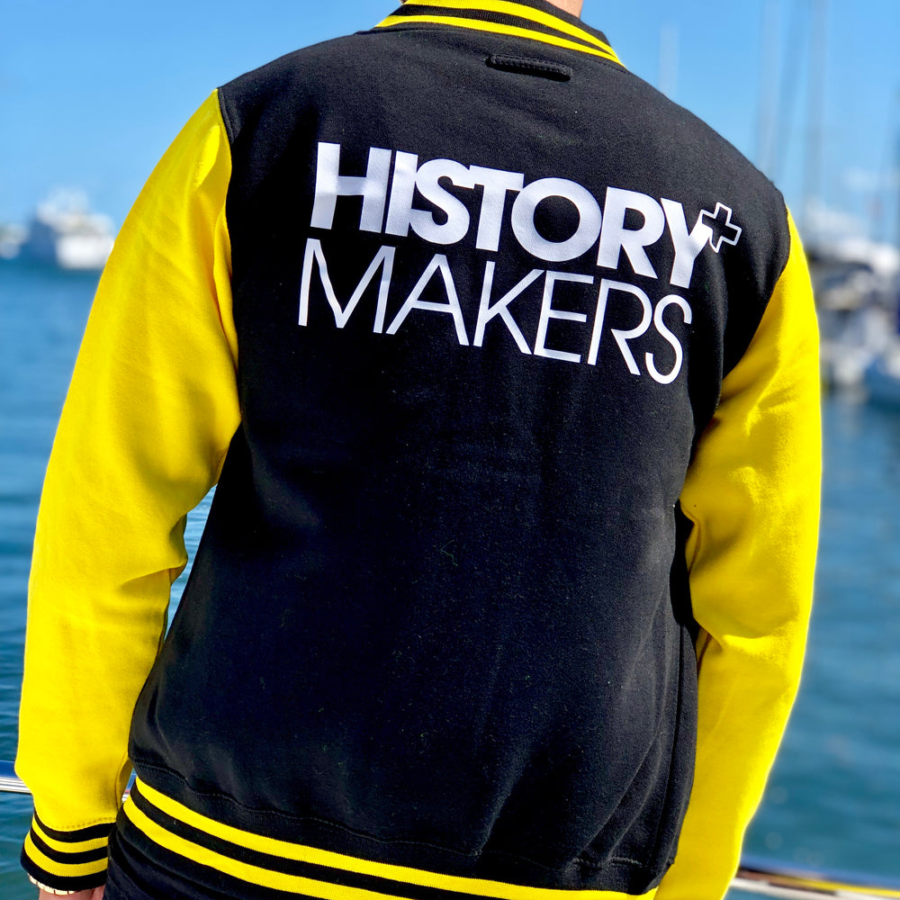 Load image into Gallery viewer, History Makers 02 Collection • Alumni Jacket ( Yellow )
