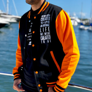 Load image into Gallery viewer, History Makers 02 Collection • Alumni Jacket ( Orange )