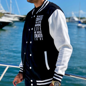 History Makers 02 Collection • Alumni Jacket ( White )