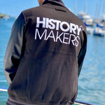 History Makers 02 Collection • Alumni Jacket ( Leather )