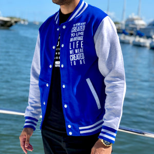 Load image into Gallery viewer, History Makers 02 Collection • Alumni Jacket ( Royal )