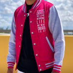 History Makers 02 Collection • Alumni Jacket ( Pink )