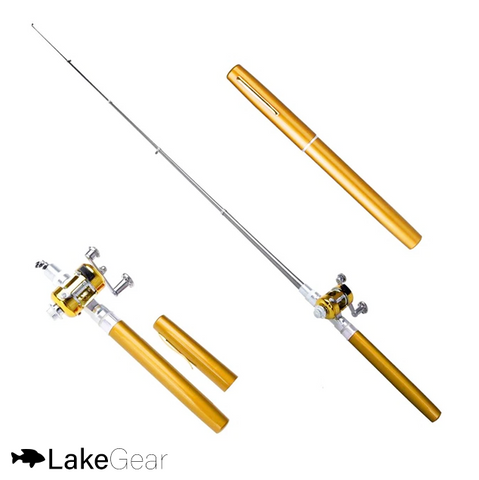 LakeGear™ Portable Telescopic Fishing Pole
