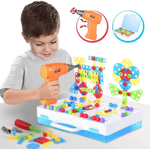 Building Blocks Toy Tool Set