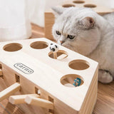 Wooden Cat Whack-A-Mole