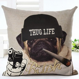 Pug Pillow Cases