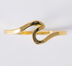 O C E A N S | Elegant Women's Wave Ring