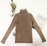 Femme Cozy Turtle Neck Sweater