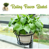 Easy Hang Railing Flower Basket