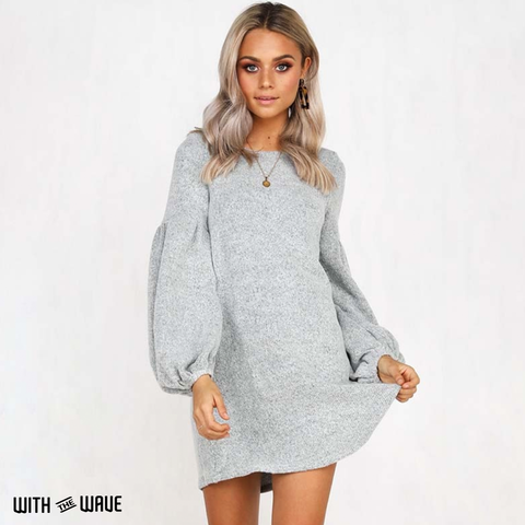 Autumn Sweater Dress