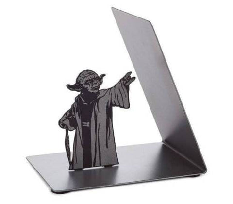 High Quality Metal Yoda Book Holder (Use the Force)