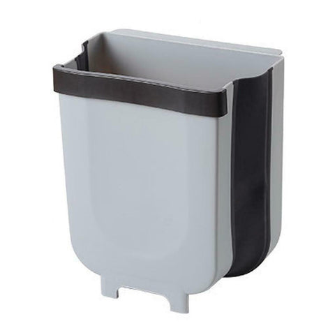 Wall Mount Foldable Trash Can