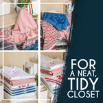 Anti-Wrinkle Closet Organizer (5 Pcs)