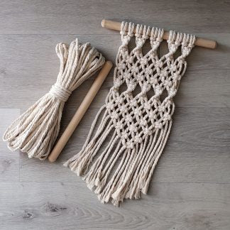Wall Hanging Macrame Kit