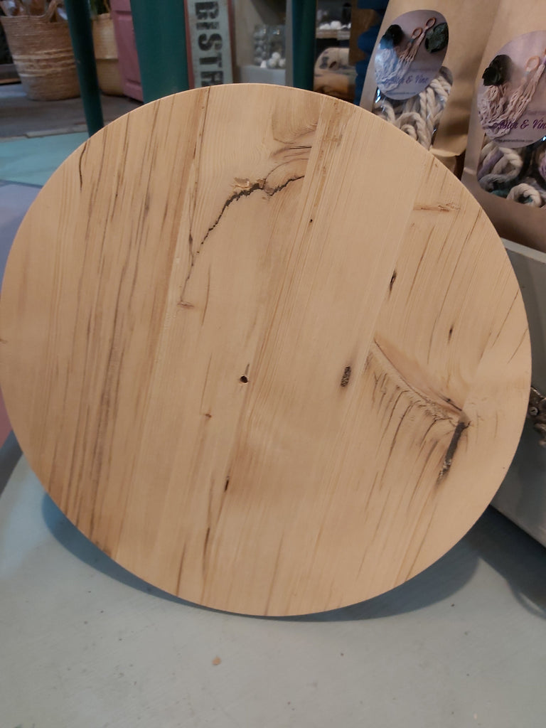 Reclaimed Wood Round Blanks