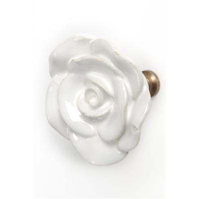 Floral Shape Ceramic Knob