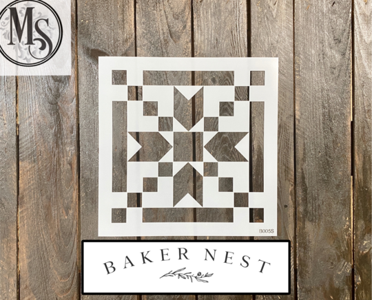 Stepping Stones Barn Quilt Stencil