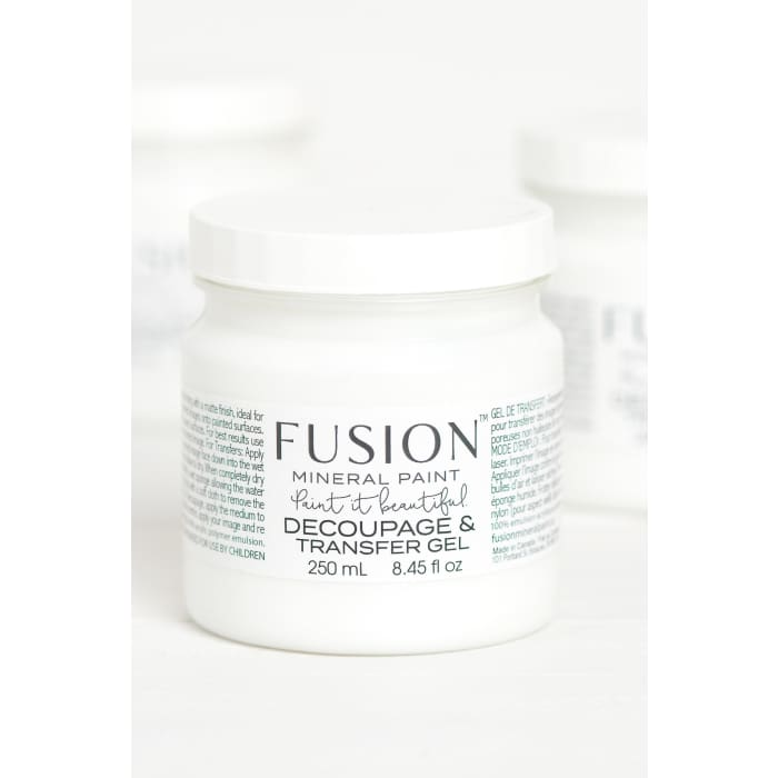 Decoupage & Transfer Gel | FUSION MINERAL PAINT | $13.00