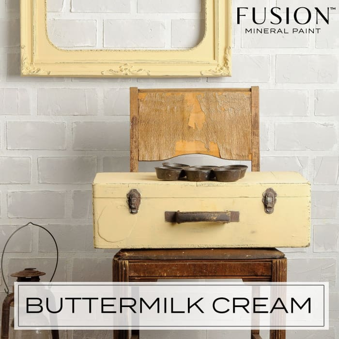 FUSION MINERAL PAINT (Tester - 37 ml) | Buttermilk Cream | PAINT | $5.00