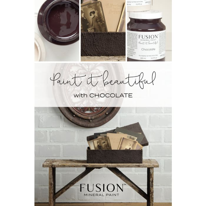 FUSION MINERAL PAINT (Tester - 37 ml) | Chocolate | PAINT | $5.00
