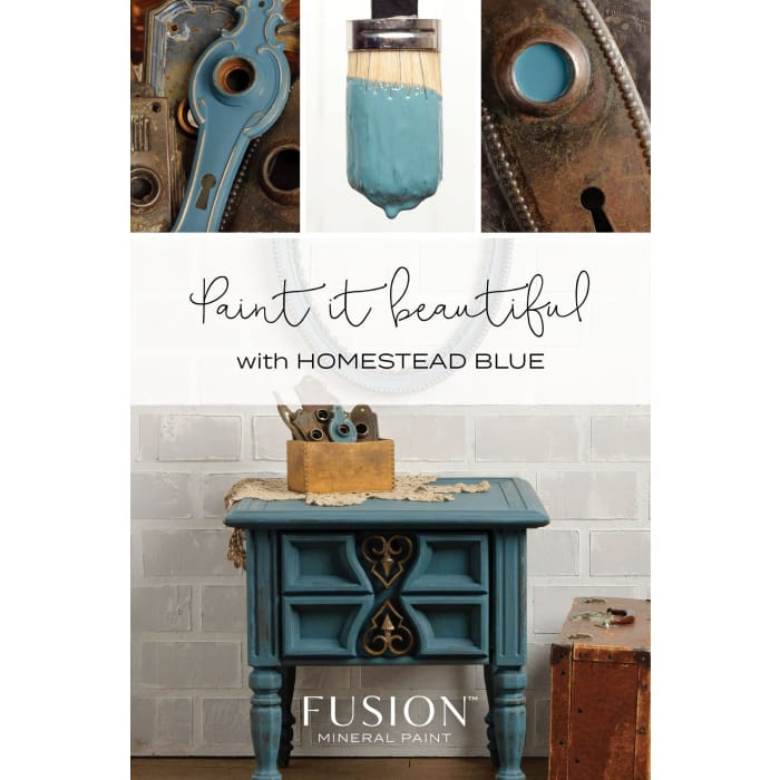 FUSION MINERAL PAINT (Tester - 37 ml) | Homestead Blue | PAINT | $5.00