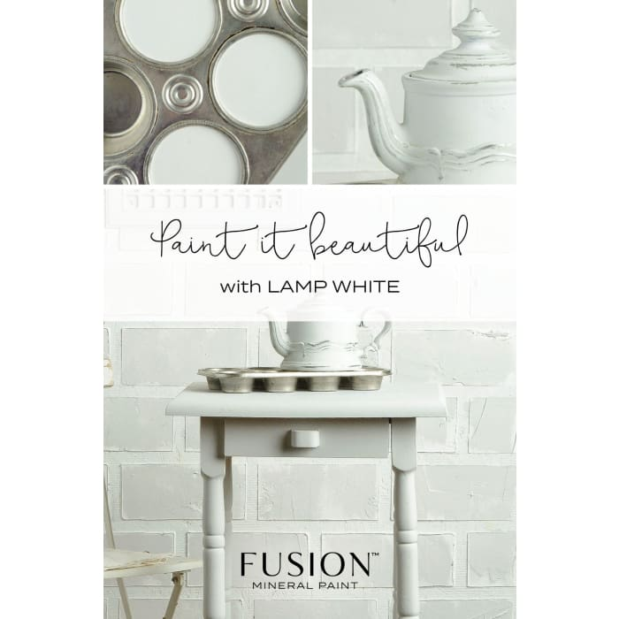 FUSION MINERAL PAINT (Tester - 37 ml) | Lamp White | PAINT | $5.00